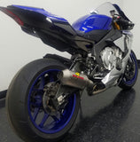 Graves Motorsports Yamaha R1 Full Titanium Exhaust System with Titanium 200mm Silencer
