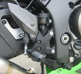 Graves Motorsports Kawasaki ZX-10 Adjustable Rearsets