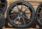 V Wheels V1 in SP- Schwarz Poliert