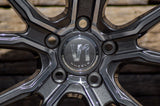 V1 Wheels V1 in DGP - Daytona Schwarz Poliert