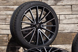 V1 Wheels V2 in SP - Schwarz Poliert