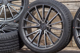 V1 Wheels V2 in DGP - Daytona Schwarz Poliert