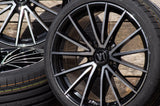 V Wheels V2 in SP - Schwarz Poliert
