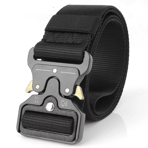 Heavy Duty Military Buckle Belt - OutdoorTac
