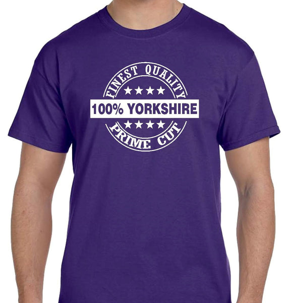 100 percent Yorkshire T Shirt Short Sleeve