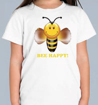 Bee Happy Colour Changing T Shirt