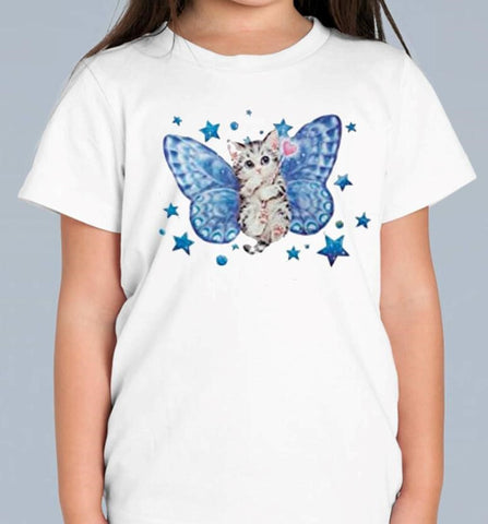 Blue Fairy T Shirt  Available in 2 colours