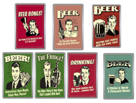 Retro Style Beer Acrylic Magnets - Collection 8