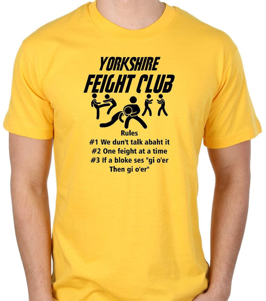 Yorkshire Feight Club Short Sleeve T Shirt