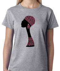 African Queen Pink Flourescent T Shirt