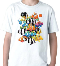 Humbugs and Clowns Colour Changing T Shirt