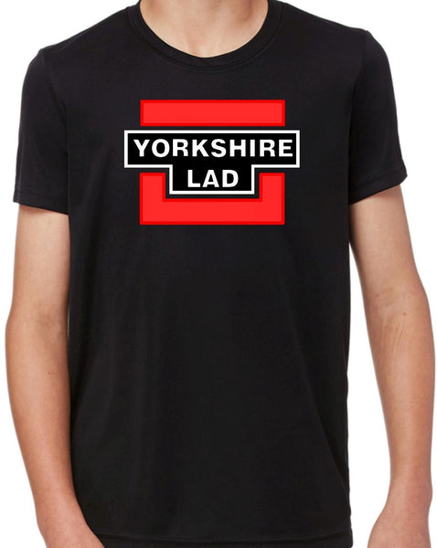 Boys Yorkshire Lad Short Sleeve T Shirt