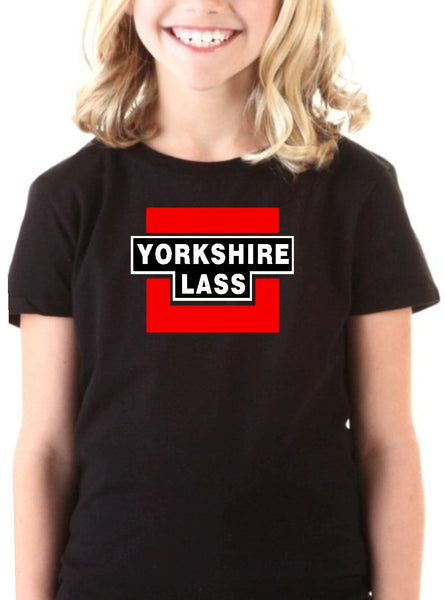 Girls Yorkshire Lass Short Sleeve T Shirt