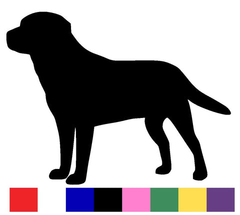 Labrador Silhouette Decal Vinyl Sticker
