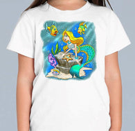 Mermaid Colour Changing T Shirt