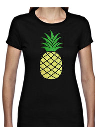 Pineapple Glitter T Shirt Available in 4 colours
