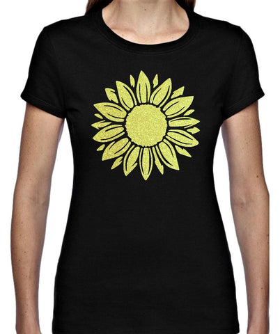 Sunflower T Shirt - Personalised Available in 4 colours