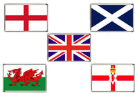UK National Flags Acrylic Fridge Magnets