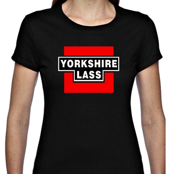 YORKSHIRE LASS T SHIRT SHORT SLEEVE