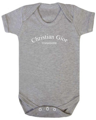 Christian Gior Baby Bodysuit      4 Sizes