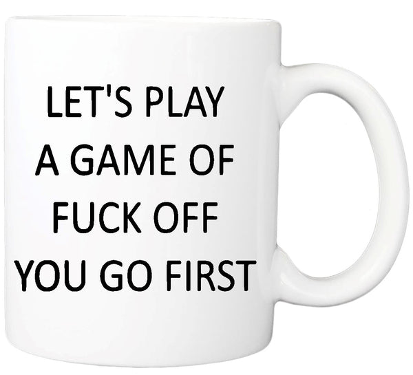 Let's Play a Game - Mug