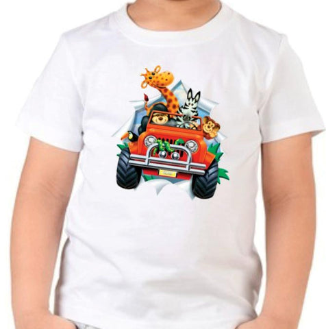 Jeep and Friends T Shirt