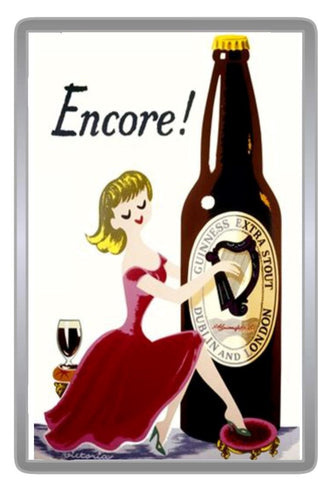Retro Style Beer Acrylic Magnets - Collection 4