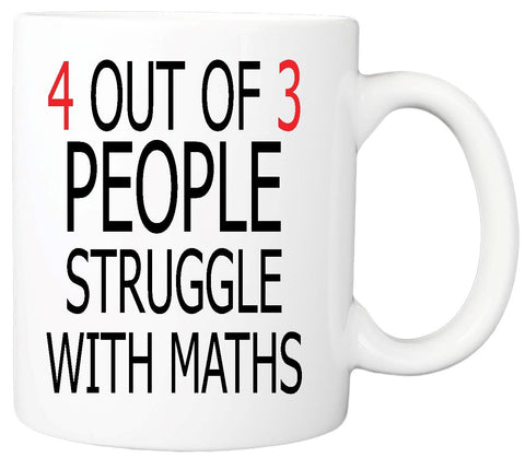 People Struggle with Maths Mug