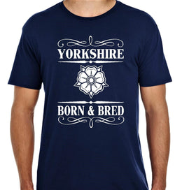 Born and Bred Yorkshire T Shirt Beau-Tees