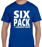 Six Pack T Shirt 6 Colours Available