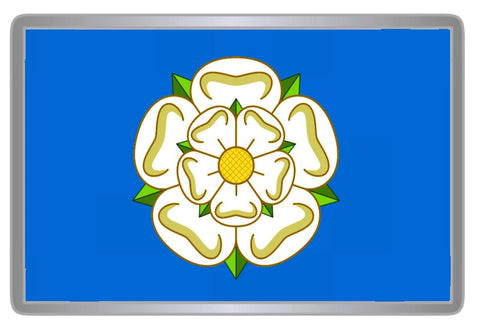 Yorkshire Flag Acrylic Fridge Magnet