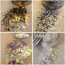 10g chunky mix glitter bag refill.