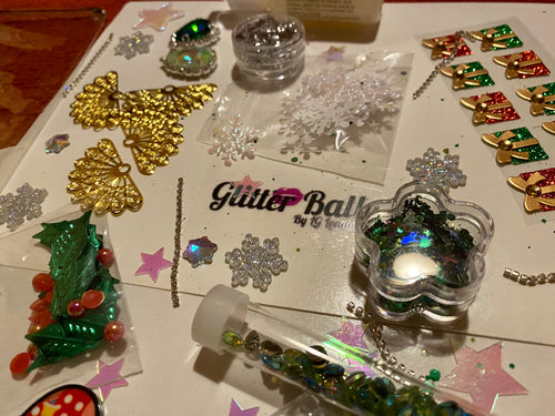 Limited edition Christmas sets bling/glitter