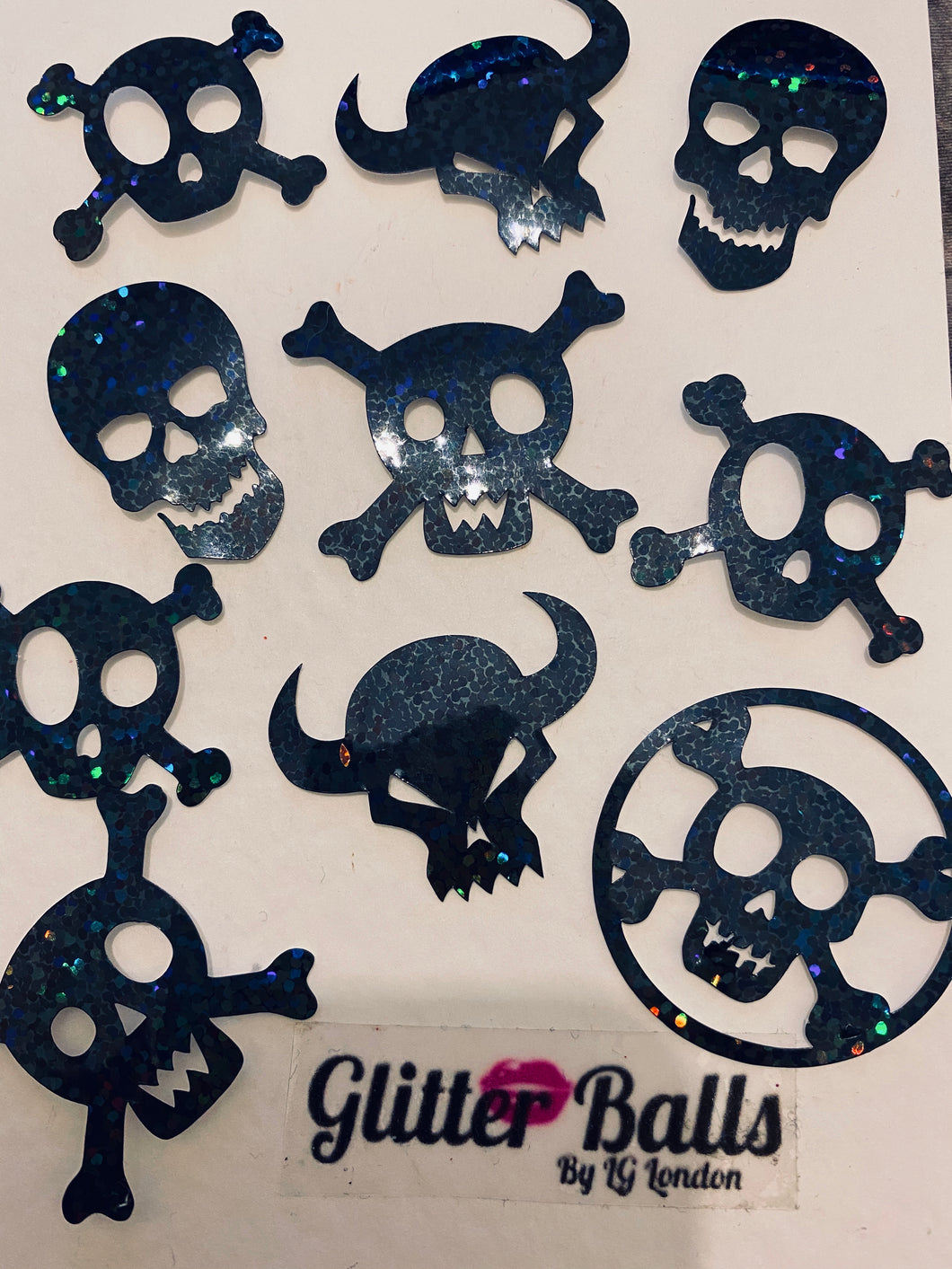 Face foils skulls mix