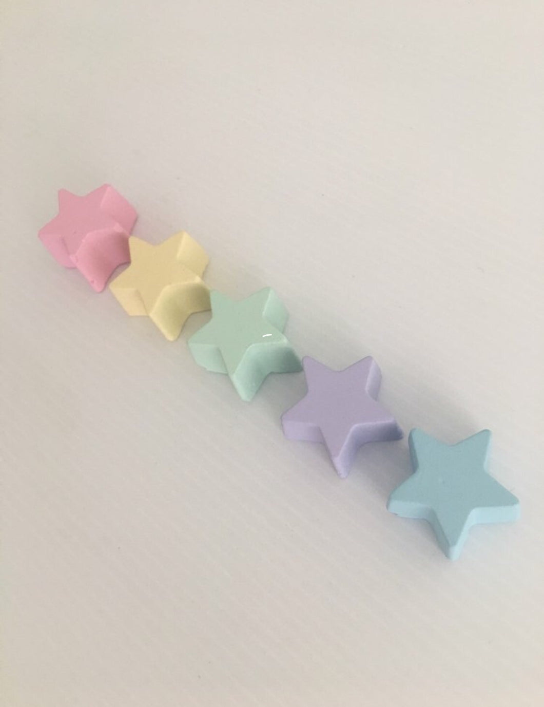 Mini Concrete Stars, Gems & Hearts - Set of 5