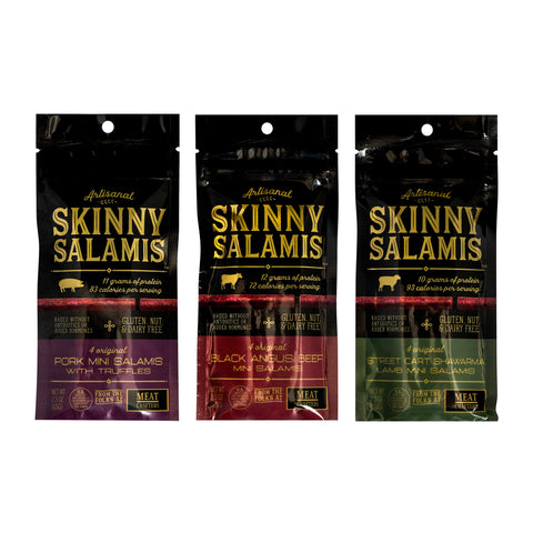 Meat Crafters Skinny  Salamis