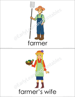 On the Farm BUNDLE (set I, II) Picture Flashcards