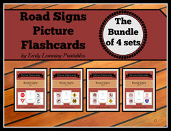 Discounted Bundle of Road Signs for toddlers.