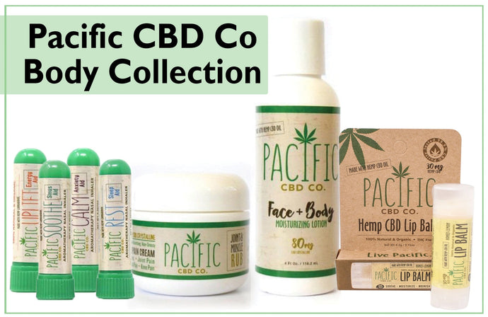 Pacific CBD Co Body Collection
