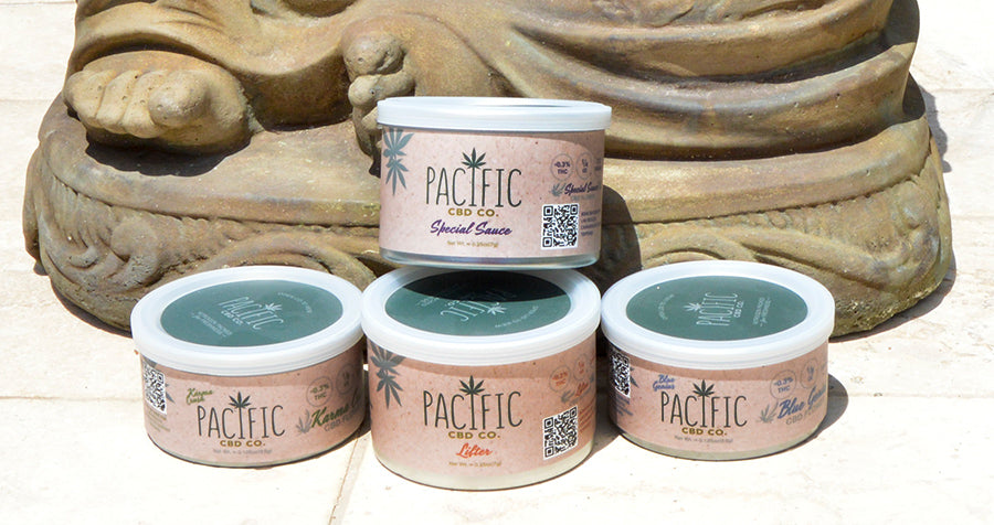 Paradise Valley Products Pacific CBD Co CBD Flower Collection