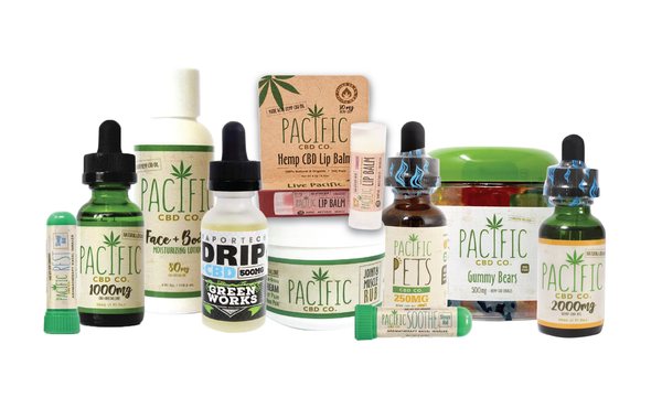 Paradise Valley Products Pacific CBD Co CBD Infused Products