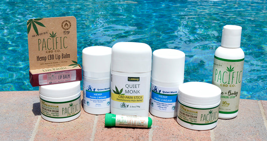 Paradise Valley Products CBD Topical Collection for Aches and Pains