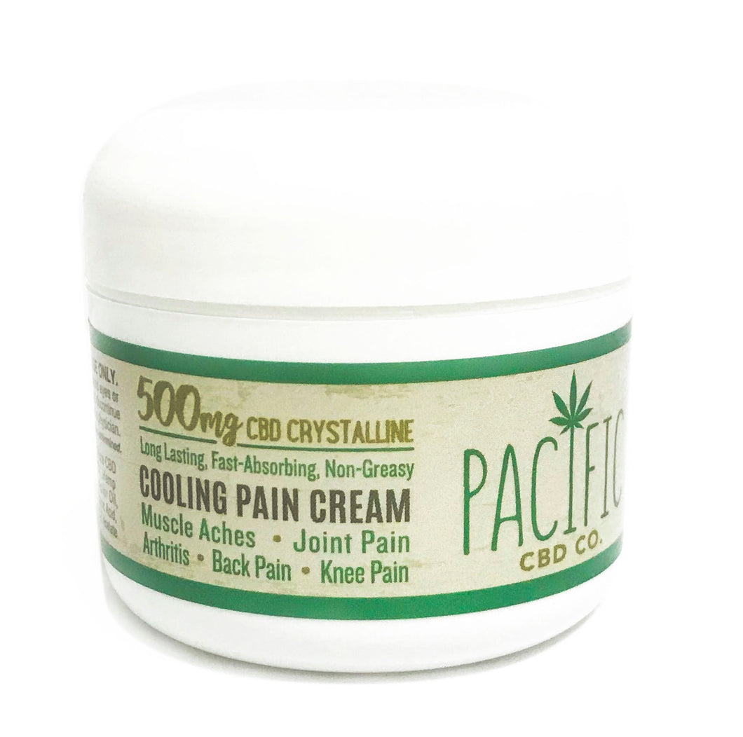 Pacific CBD Co 500mg CBD Joint & Muscle Rub for Pain & Soreness