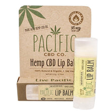 Pacific CBD 30mg Hemp CBD Infused Honey Lemon Lip Balm .15oz Paradise Valley Products