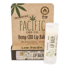 Pacific CBD 30mg Hemp CBD Infused Original Lip Balm .15oz Paradise Valley Products