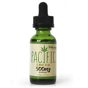 Paradise Valley Products Pacific CBD Co 500mg CBD Oil Peppermint Flavor Drops