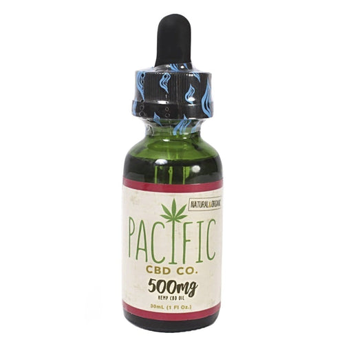 Paradise Valley Products Pacific CBD Co 500mg CBD Oil Strawberry Flavor Drops