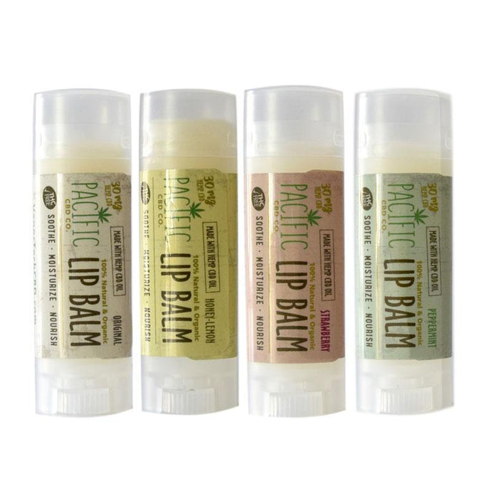 Pacific CBD 30mg Hemp CBD Infused Lip Balm .15oz Paradise Valley Products