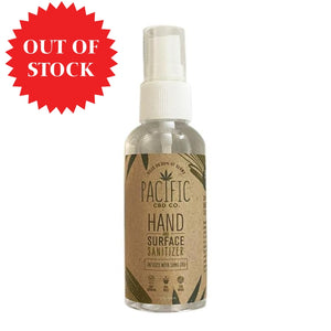 Paradise Valley Products Pacific CBD Co Hand and Surface Sanitizer