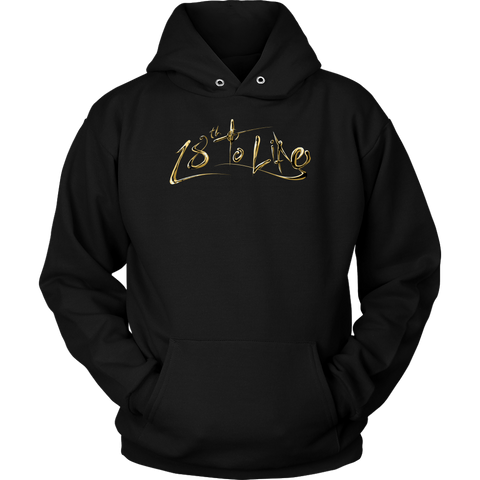 Gold 18th to Life Hoodie - Jay Flores